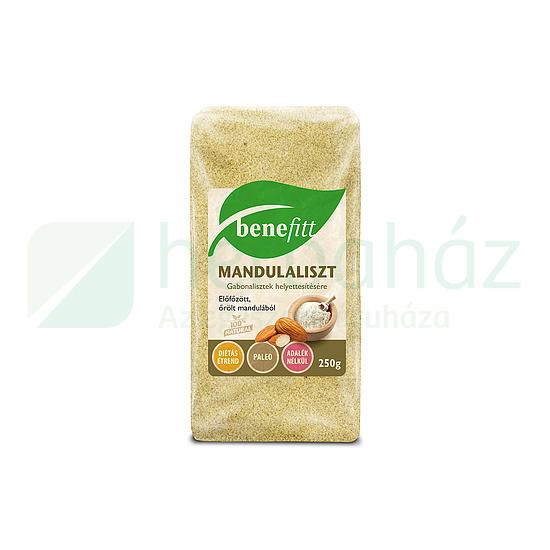 BENEFITT MANDULALISZT 250G AKCIÓ 2020.01.24.