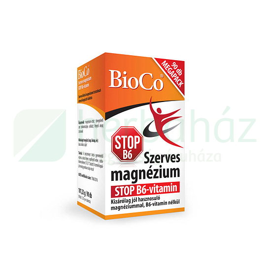 BIOCO SZERVES MAGNÉZIUM STOP B6-VITAMIN 90DB
