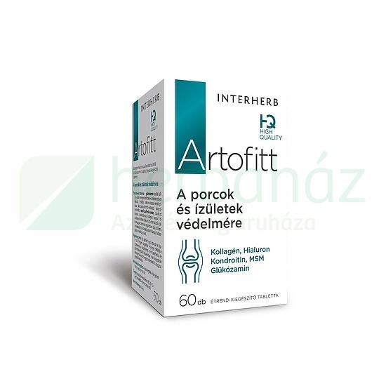 INTERHERB ARTOFITT TABLETTA 60DB