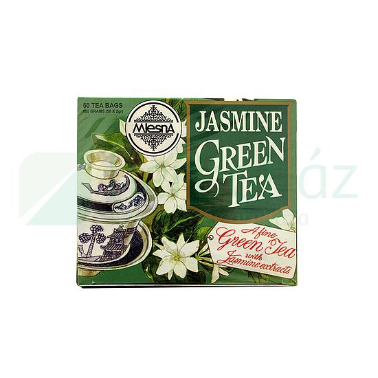 fogyni jázmin teával)