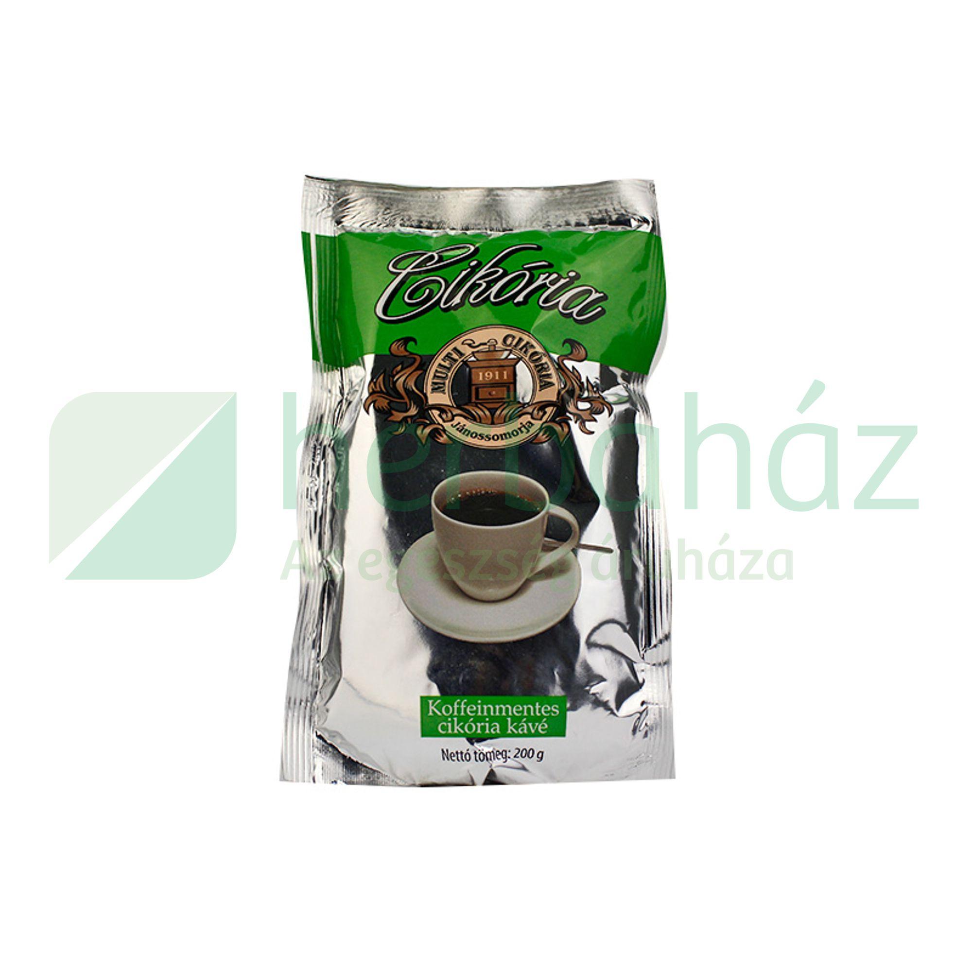 cikória kávé fogyás)