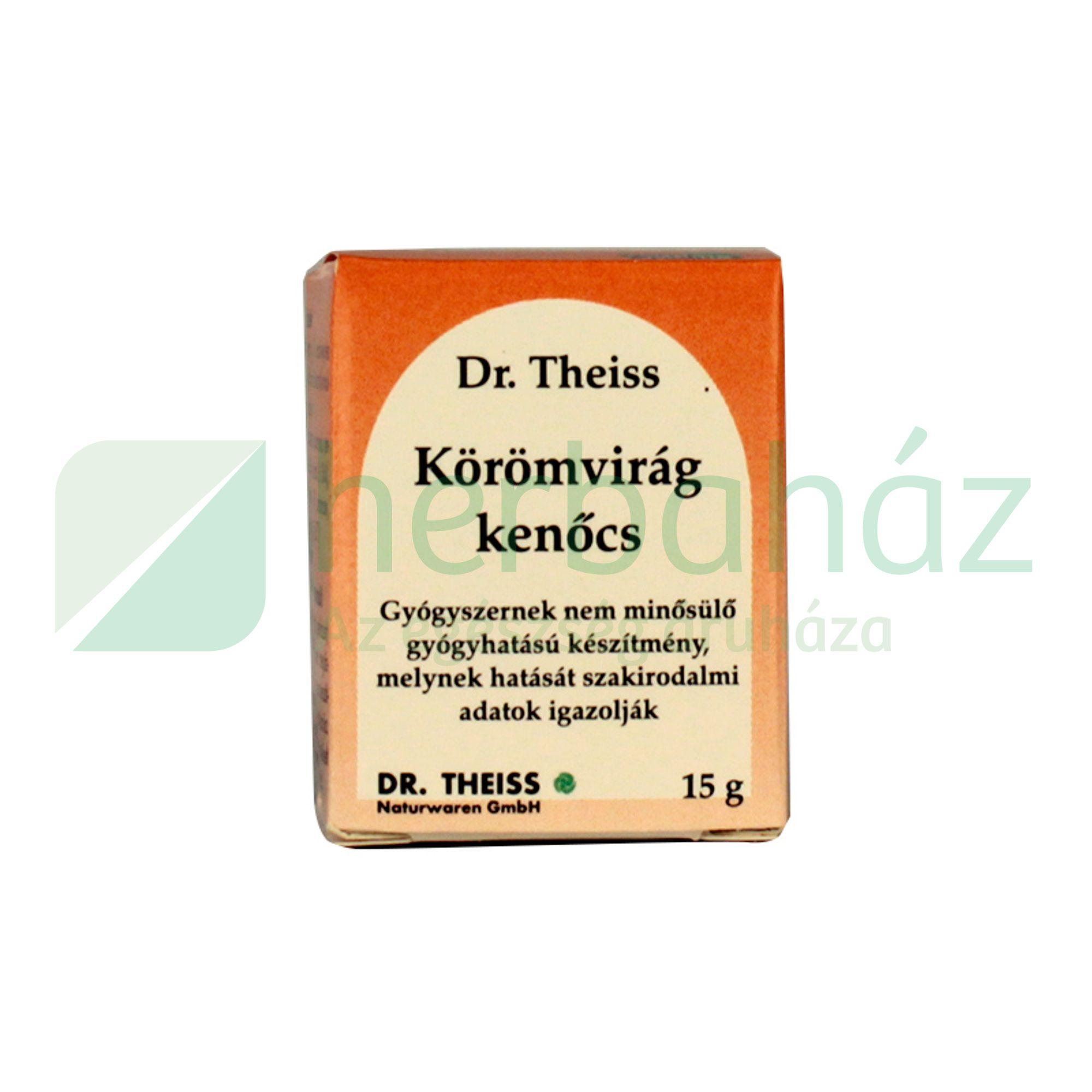 DR.THEISS KÖRÖMVIRÁG KENŐCS 15G