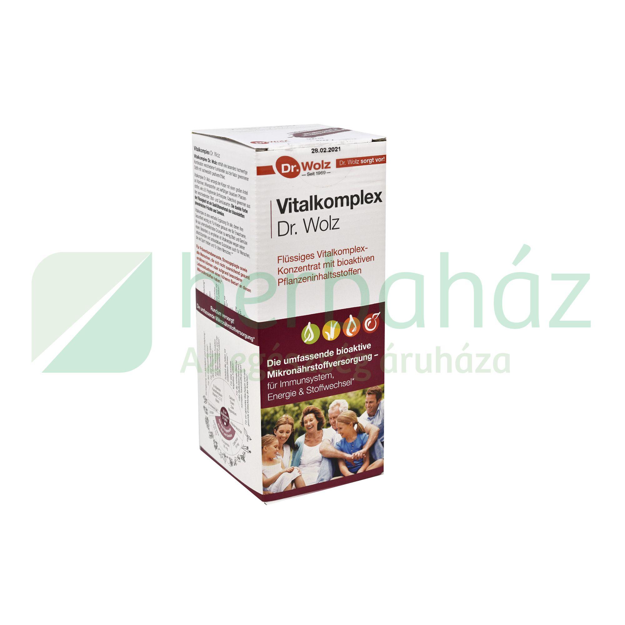 DR. WOLZ VITALKOMPLEX 500ML