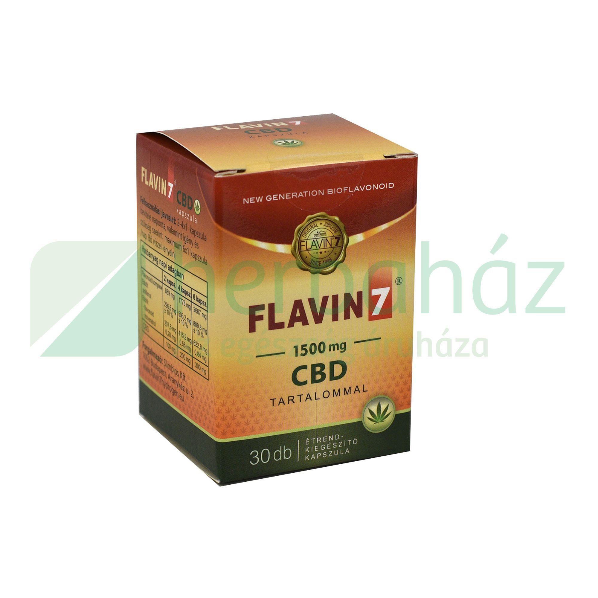FLAVIN7 CBD KAPSZULA 30DB