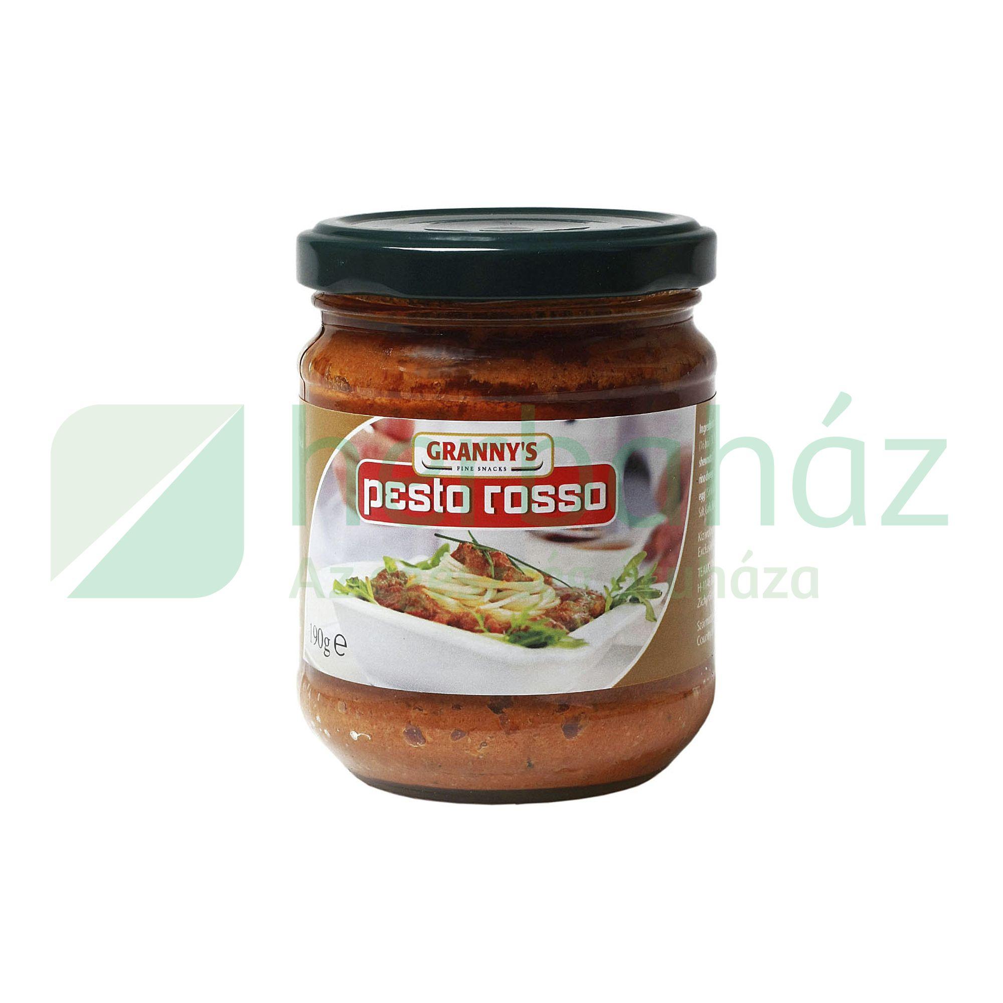GRANNYS PESTO ROSSO 190G