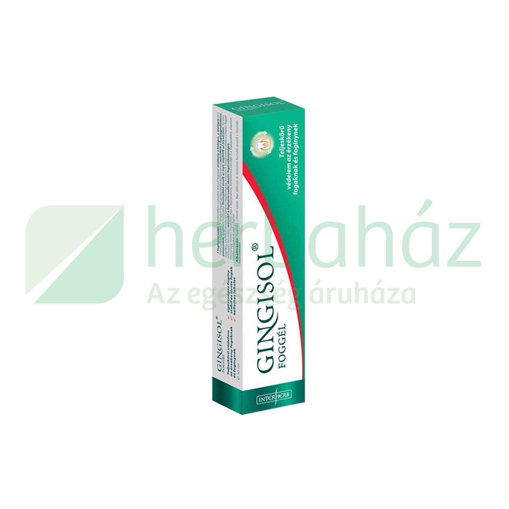 INTERHERB GINGISOL FOGGÉL 50ML