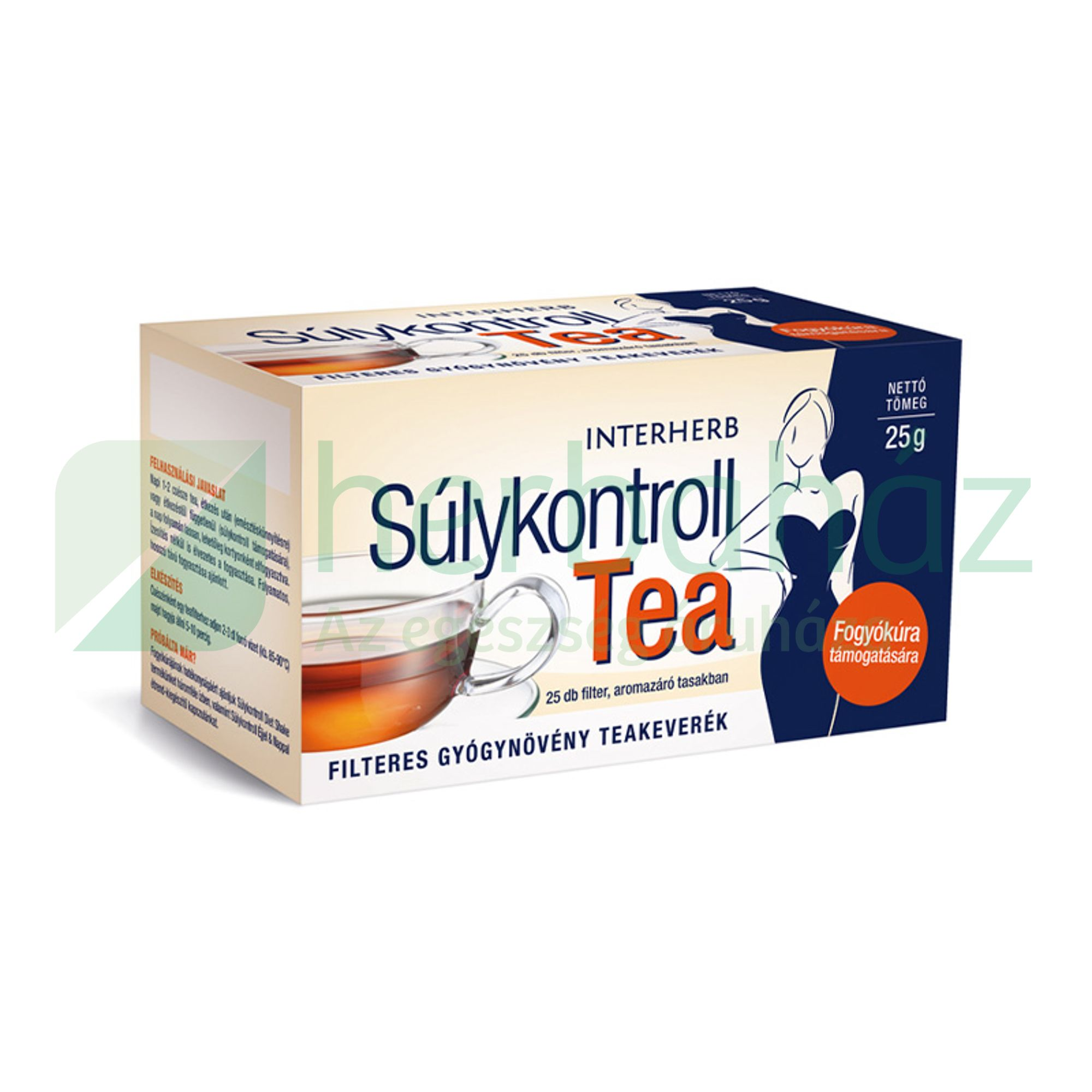 INTERHERB SÚLYKONTROLL TEA 25DB