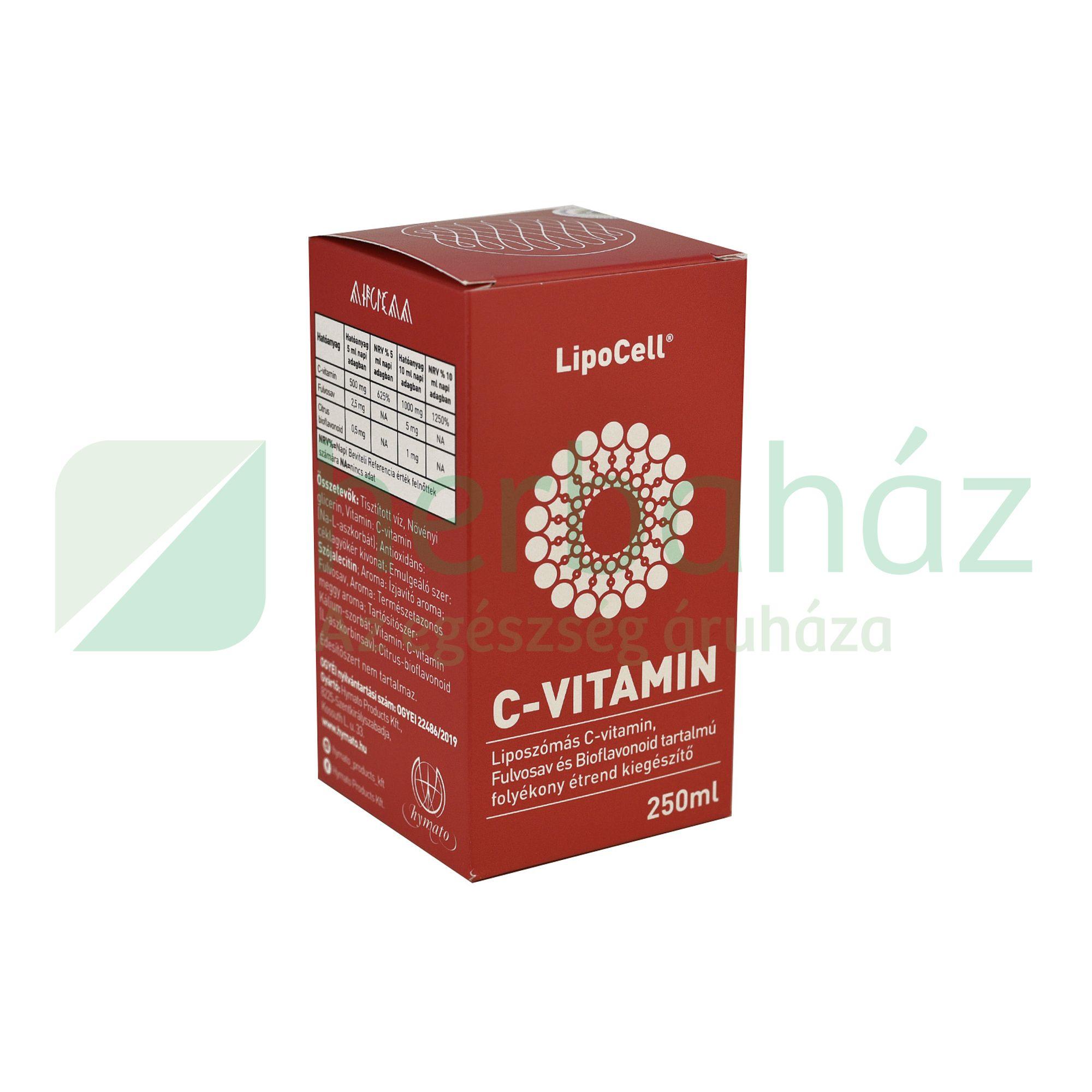 LIPOCELL C-VITAMIN 250ML