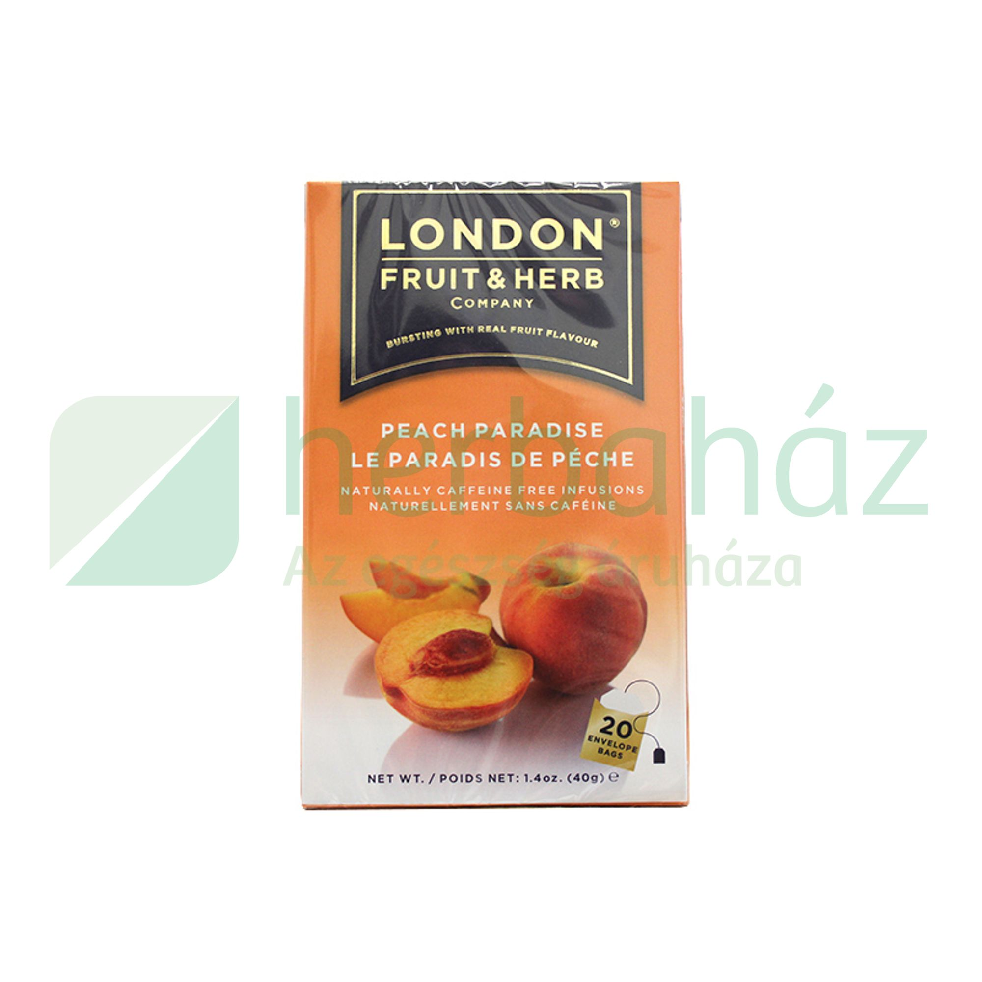 LONDON ŐSZIBARACK KOFFEINMENTES TEA 20DB