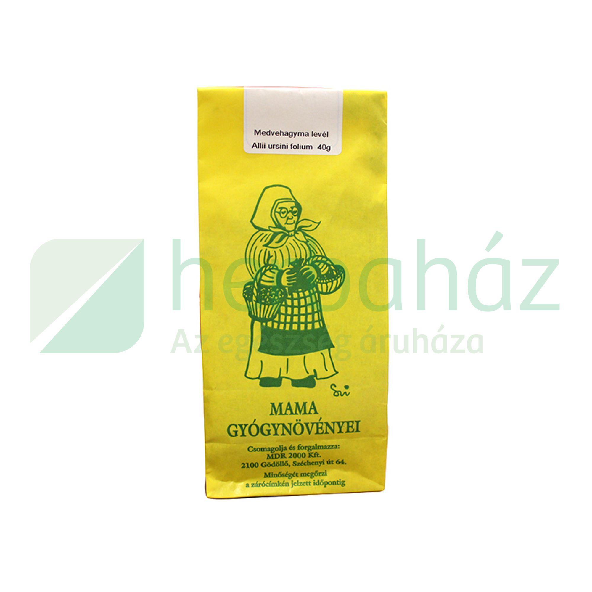 MAMA TEA MEDVEHAGYMA SZÁLAS 40G