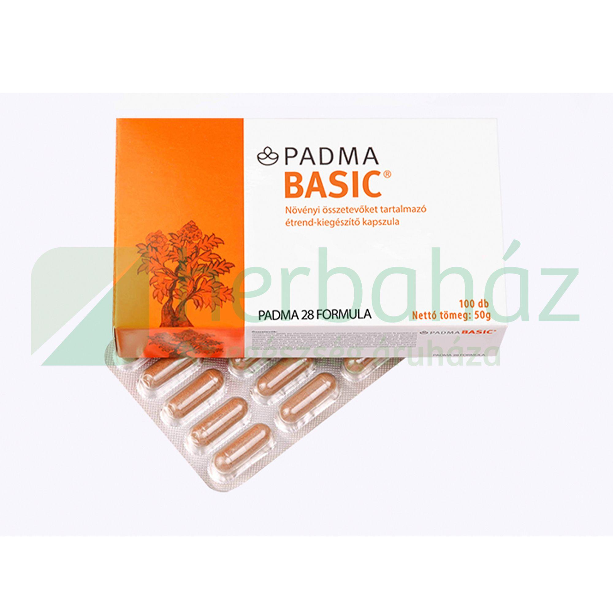 PADMA BASIC KAPSZULA 100DB