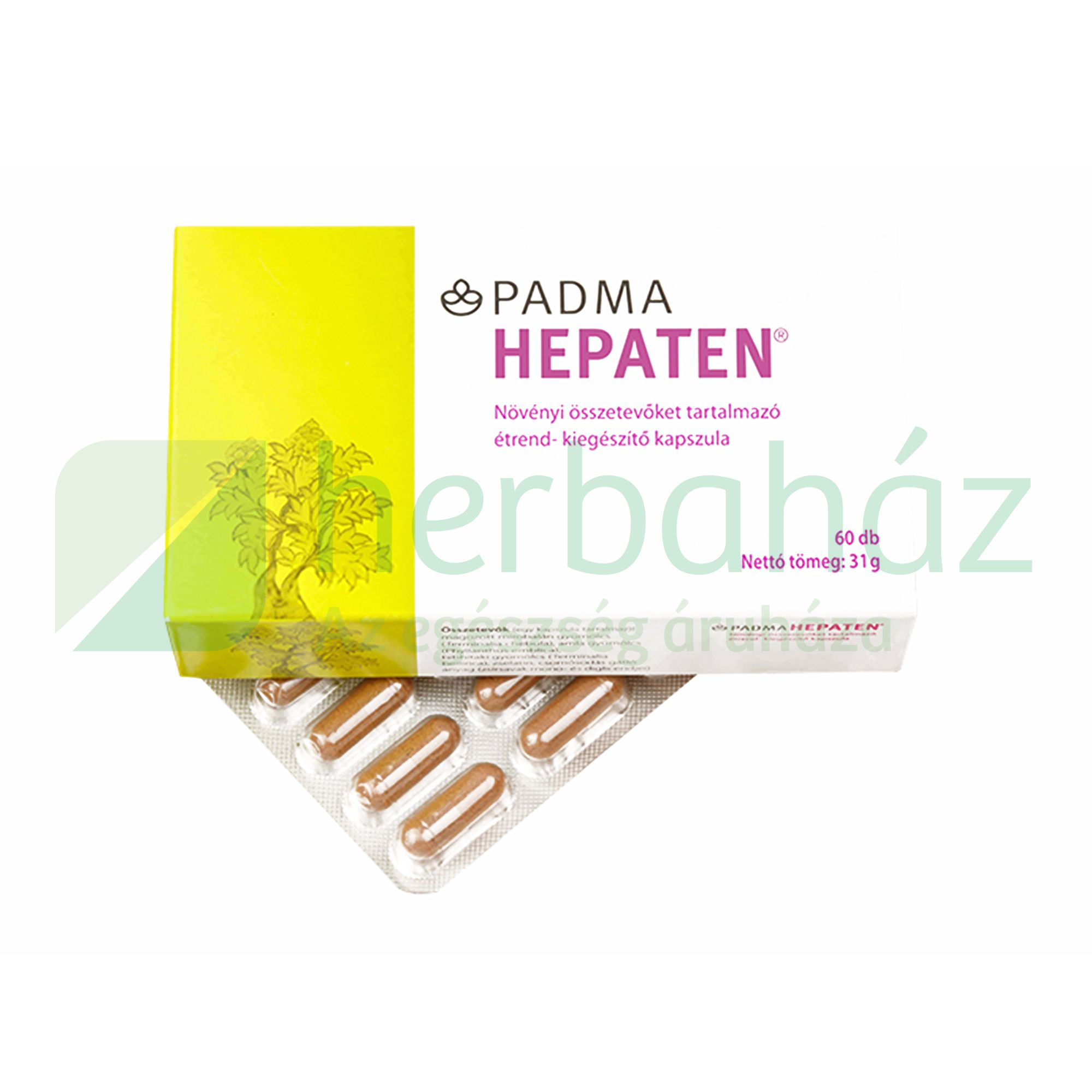 PADMA HEPATEN KAPSZULA 60DB