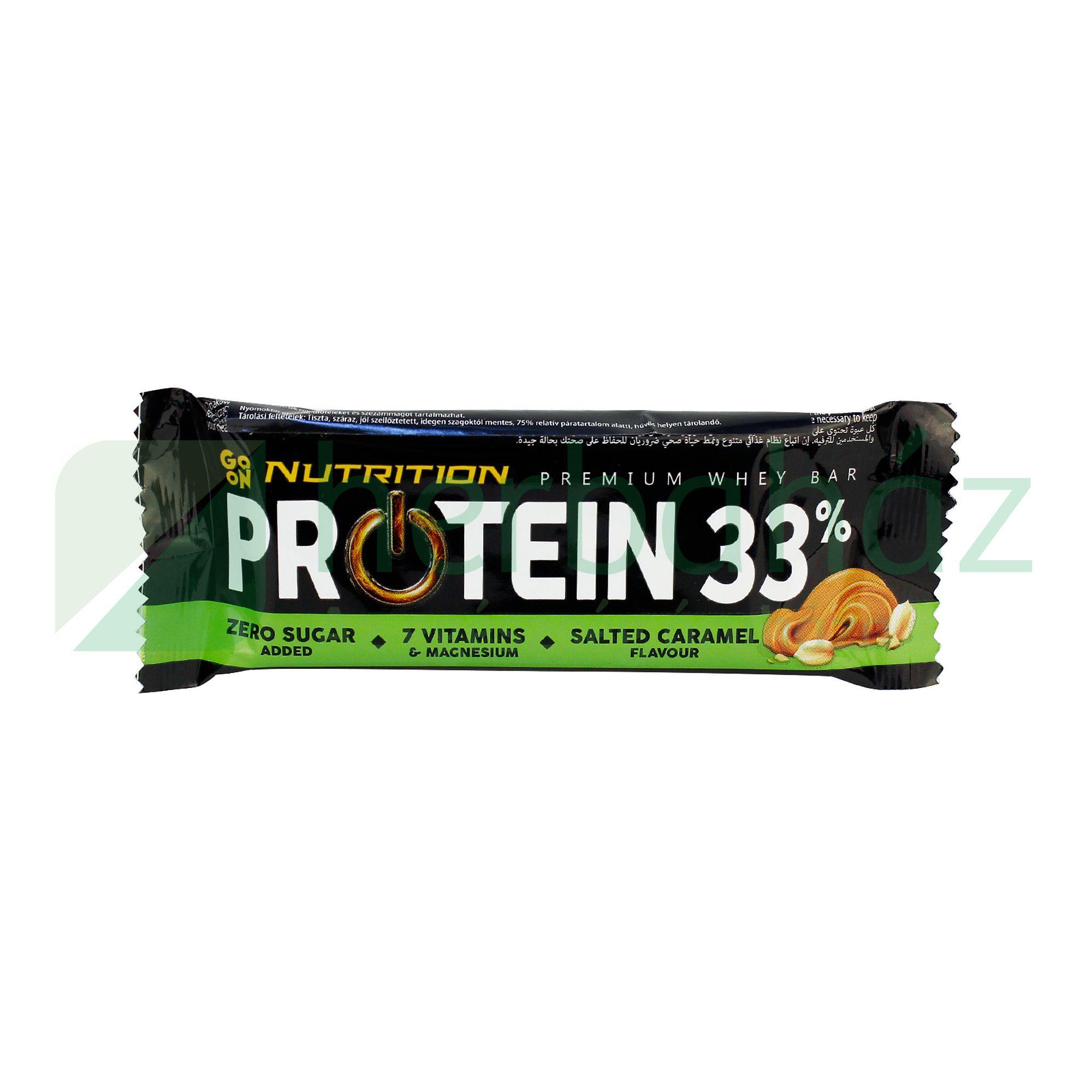 SANTE GO ON NUTRITION PROTEIN SZELET 33% KARAMELL 50G