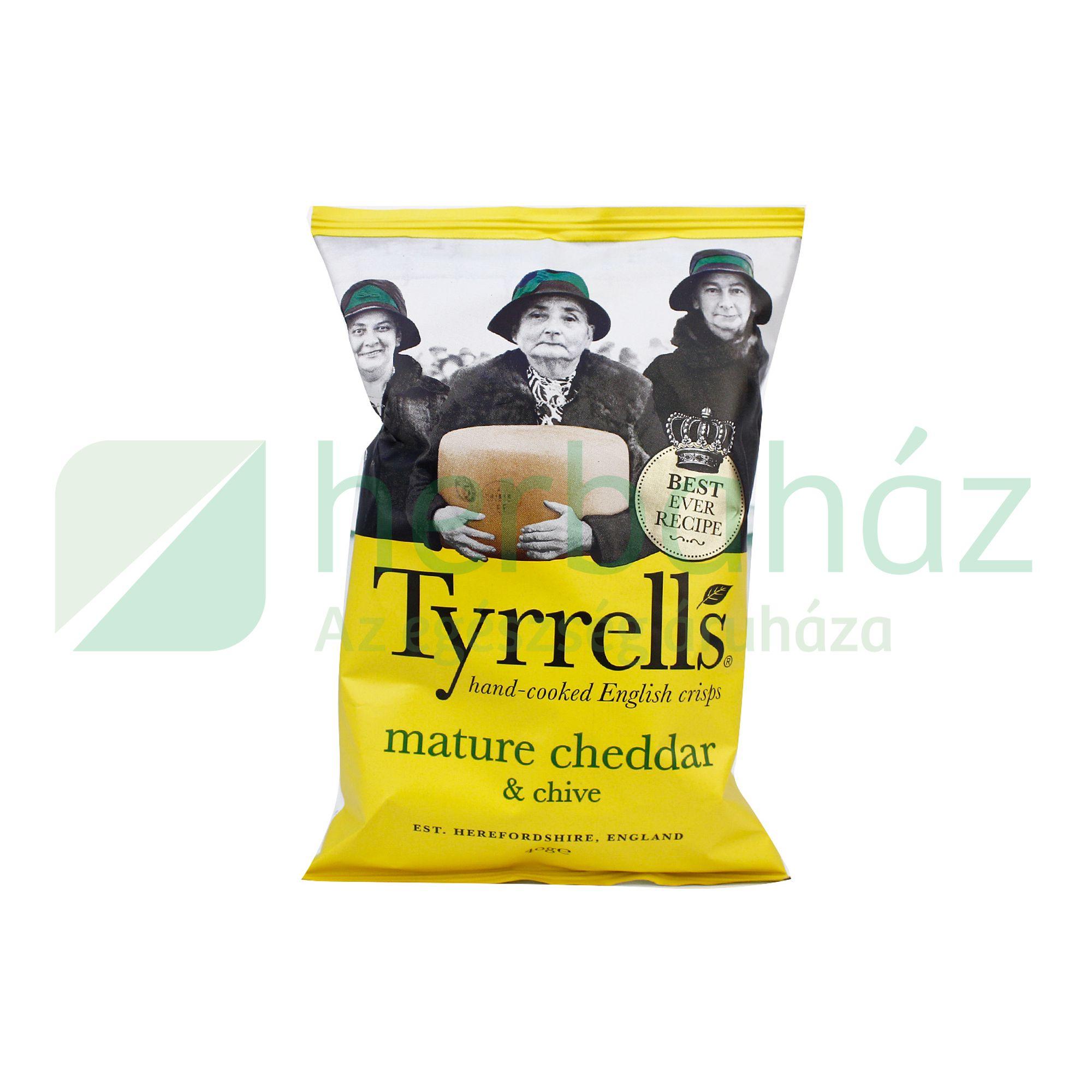 tyrrells chips cheddar